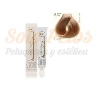 Elite classic color 8-07 rubio claro vison 60 ml. HAIRCONCEPT