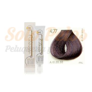 Elite classic color 4-77 castaño violeta intenso 60 ml. HAIRCONCEPT