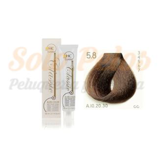 Elite classic color 5-8 castaño claro marron 60 ml. HAIRCONCEPT