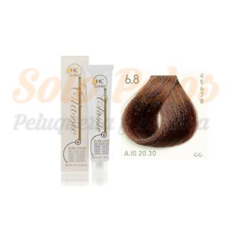 Elite classic color 6-8 rubio oscuro marron 60 ml. HAIRCONCEPT
