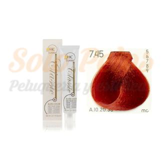 Elite classic color 7-45 rubio cobre rojizo 60 ml. HAIRCONCEPT