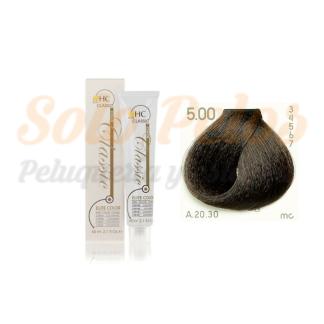 Elite classic color 5-00 castaño claro natural intenso 60 ml. HAIRCONCEPT