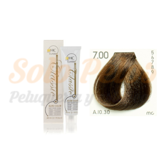 Elite classic color 7-00 rubio natural intenso 60 ml. HAIRCONCEPT