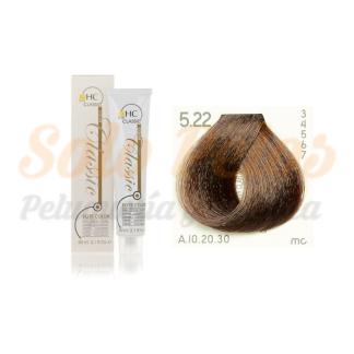 Elite classic color 5-22 castaño claro beige intenso 60 ml. HAIRCONCEPT