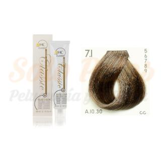 Elite classic color 7-1 rubio ceniza 60 ml. HAIRCONCEPT