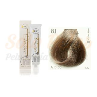 Elite classic color 8-1 rubio claro ceniza 60 ml. HAIRCONCEPT