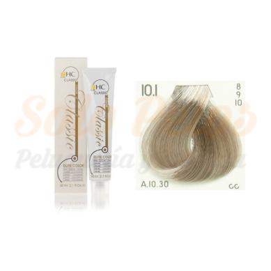 Elite classic color 10-1 rubio platino ceniza 60 ml. HAIRCONCEPT
