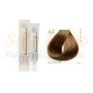 Elite classic color 6-2 rubio oscuro beige 60 ml. HAIRCONCEPT