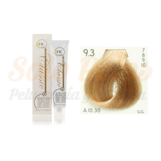 Elite classic color 9-3 rubio extra claro dorado 60 ml. HAIRCONCEPT