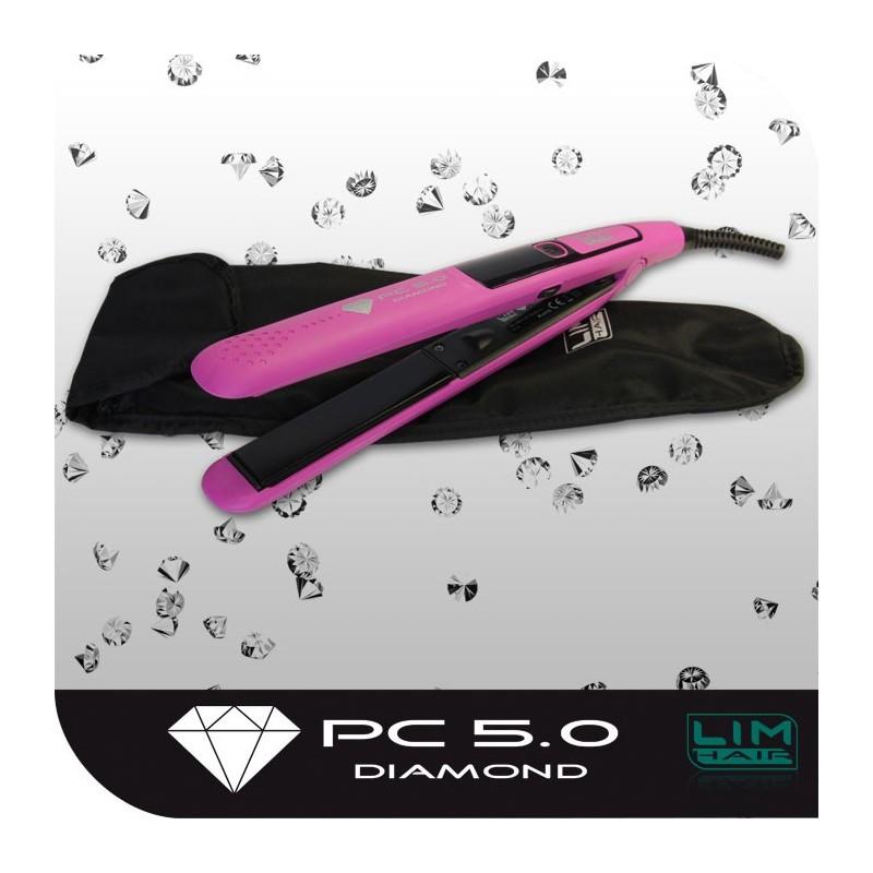 Plancha de pelo PC 5.0 DIAMOND Fuchsia LIM HAIR