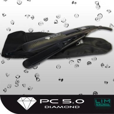 Plancha de pelo PC 5.0 DIAMOND Negra LIM HAIR