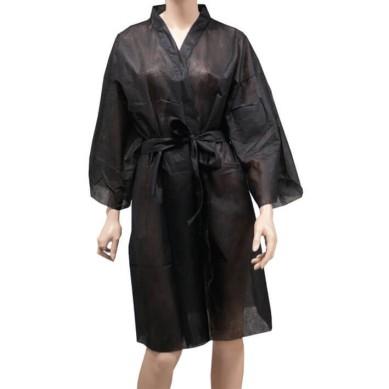 Bolsa 10 Kimonos Desechables Negros POLLIÉ