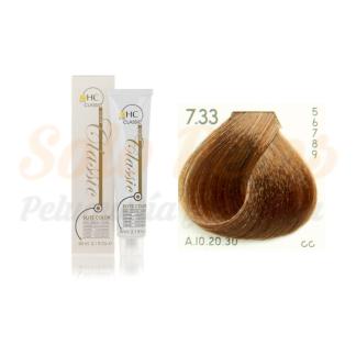 Elite classic color 7-33 rubio dorado intenso 60 ml. HAIRCONCEPT