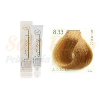 Elite classic color 8-33 rubio claro dorado intenso 60 ml. HAIRCONCEPT
