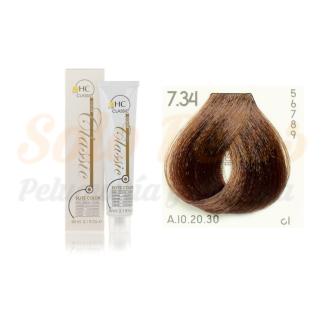 Elite classic color 7-34 rubio dorado cobre 60 ml. HAIRCONCEPT