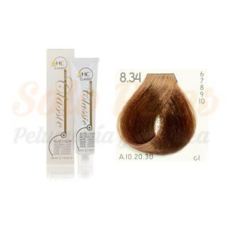 Elite classic color 8-34 rubio claro dorado cobre 60 ml. HAIRCONCEPT