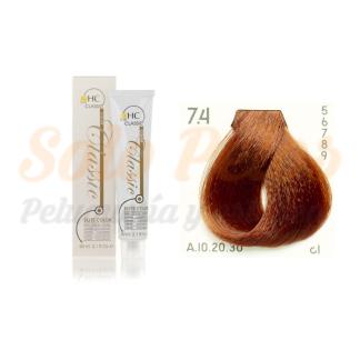 Elite classic color 7-4 rubio cobre 60 ml. HAIRCONCEPT