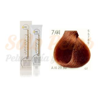 Elite classic color 7-44 rubio cobre intenso 60 ml. HAIRCONCEPT