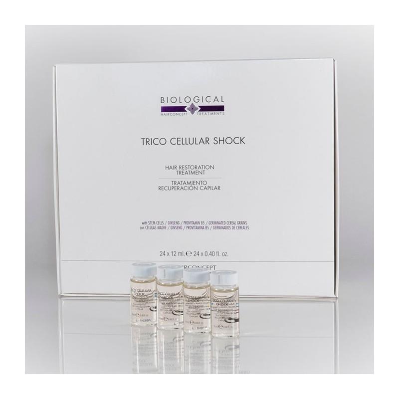 Hairconcept TRICO CELLULAR SHOCK Tratamiento recuperación capilar BIOLOGICAL (24 x 12)