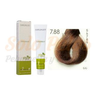HAIRCONCEPT 7-88 Rubio marrón intenso ELITE EVOLUTION ORGANIC COLOR (SIN AMONIACO NI PPD) 60 ml