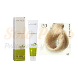 HAIRCONCEPT 12-0 superaclarante natural ELITE EVOLUTION ORGANIC COLOR (SIN AMONIACO NI PPD) 60 ml