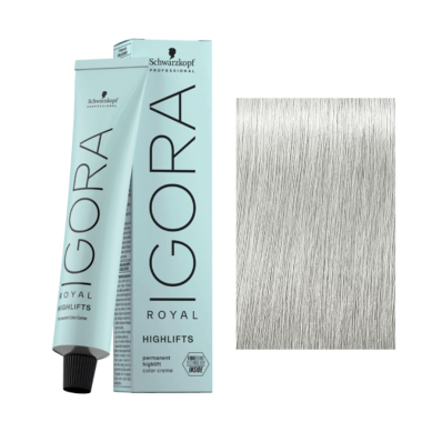 Schwarzkopf Tinte Igora Royal Highlifts 10-21 Rubio Platino Humo Ceniza 60 ml