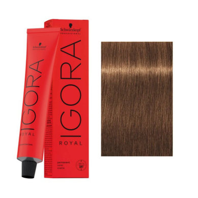 Schwarzkopf Tinte Igora Royal 7-55 Rubio Medio Dorado Intenso 60 ml