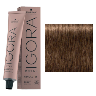 Schwarzkopf Igora Royal 7-60 Rubio Medio Chocolate Natural 60 ml
