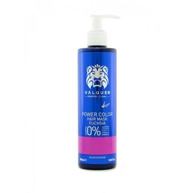 Valquer Power Color Hair Mask Fucshia 275 ml