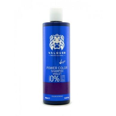 Valquer Power Color Champú Violeta 400 ml
