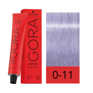 Schwarzkopf Igora Royal 0-11 Tono de Mezcla Argenta 60 ml