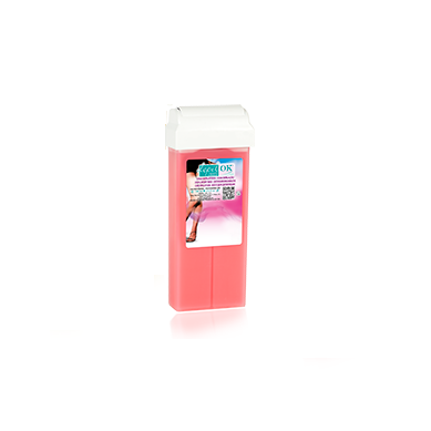 Depil Ok Caja Entera Roll-On x28 Cartuchos de cera Semi Fría Rosa 100 ml