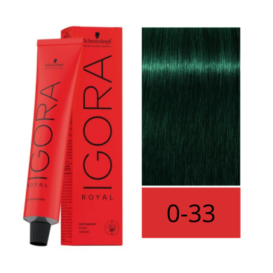 Schwarzkopf Igora Royal 0-33 Concentrado Anti-Rojo 60 ml