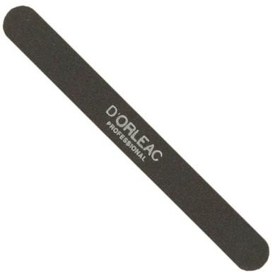 D'Orleac Lima de uñas negra acolchada 100/180 grs