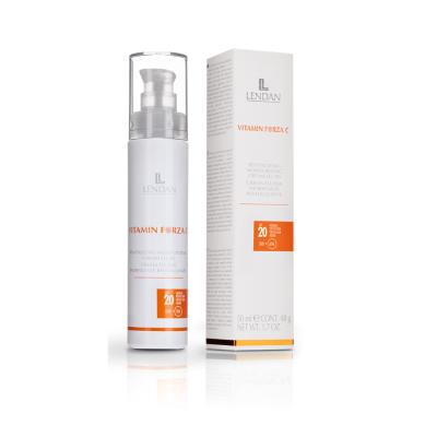 Lendan Vitamin Forza C Crema Facial Fluida Hidratante Regeneradora 50 ml