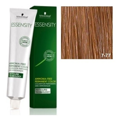 Schwarzkopf Essensity Tinte Sin Amoniaco 7-77 Rubio Medio Cobrizo Intenso 60 ml