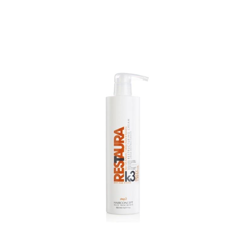 HC Hairconcept Restaura k3 crema reestructurante cabellos crespos 500 ml
