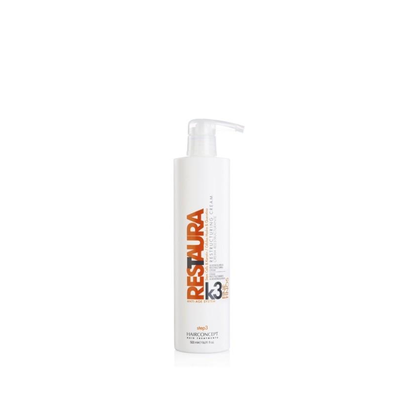 HC Hairconcept Restaura k3 crema reestructurante cabellos finos 500 ml