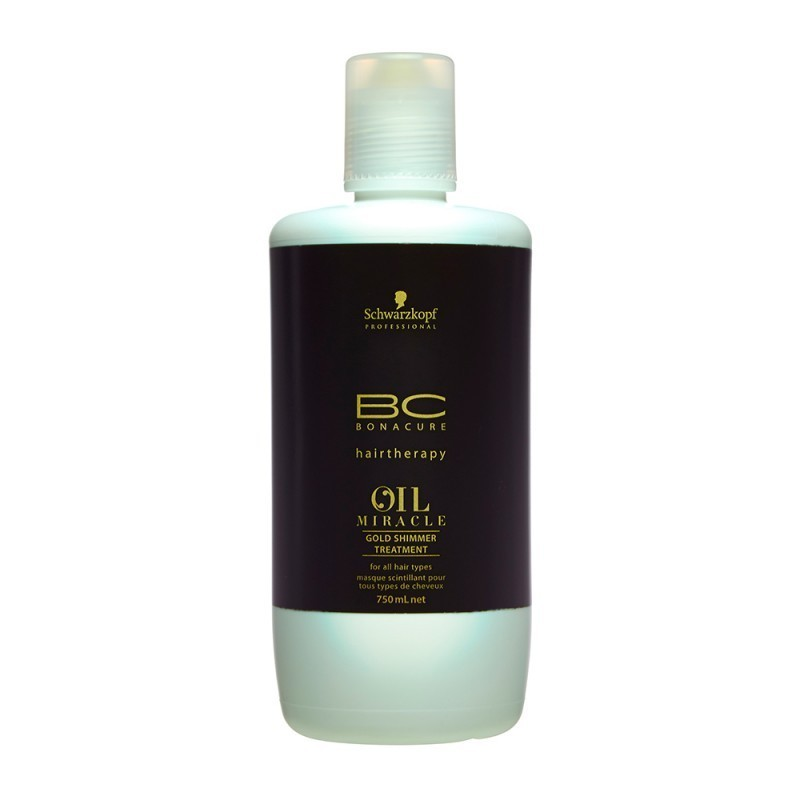 SCHWARZKOPF BC OIL MIRACLE mascarilla brillo dorado 750 ml