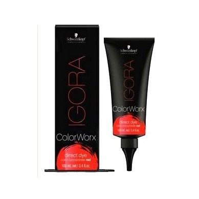 SCHWARZKOPF IGORA COLOR WORX pigmento directo rojo 100 ml