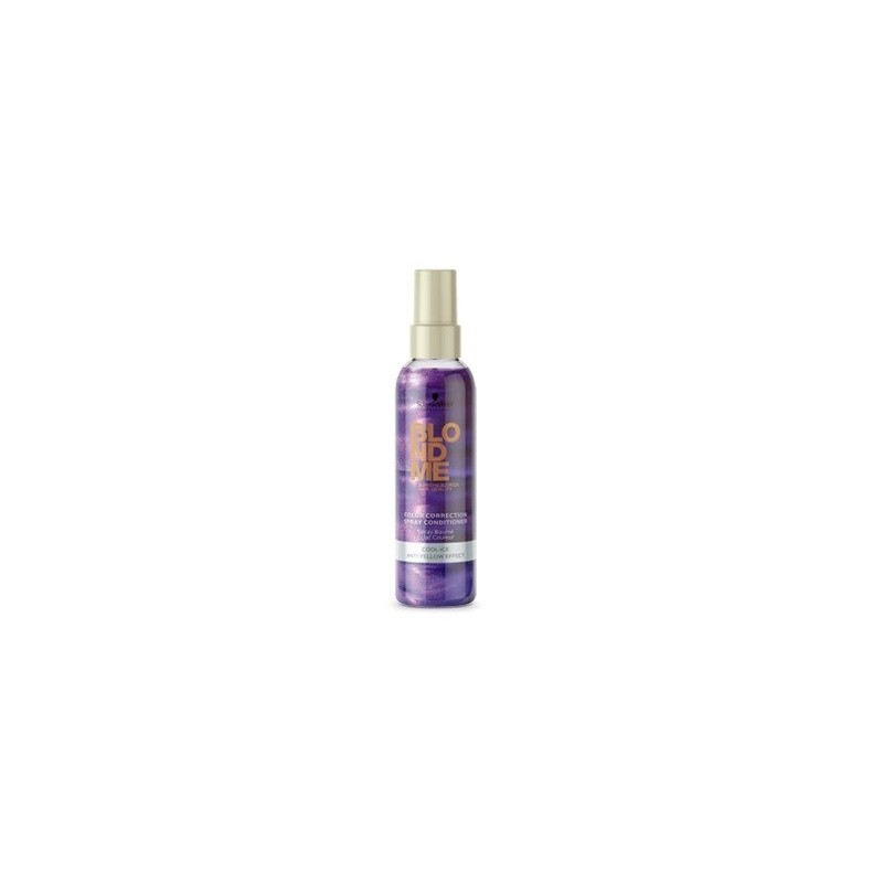 SCHWARZKOPF BLONDME spray acondicionador anti-amarillo 150 ml