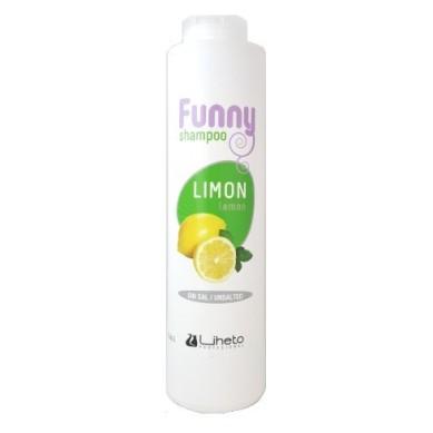 LIHETO Champú funny LIMON sin sal 500 ml