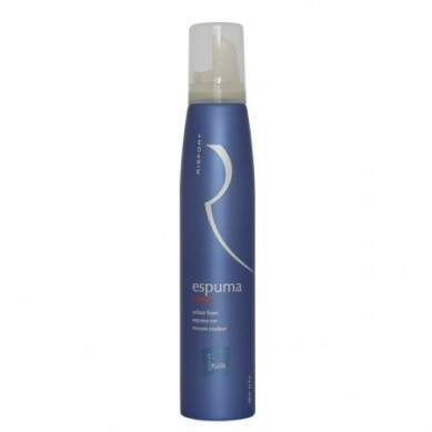 RISFORT Espuma color castaño 200 ml