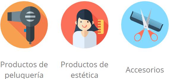 productos de peluqueria online - caracteristicas